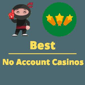best no account casinos in Canada 2021 top list