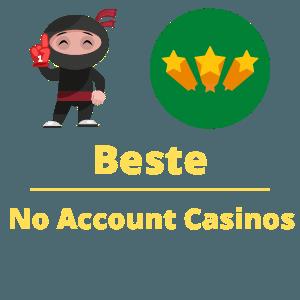 beste no account casinos nederland 2021