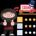 how we rank a no registration casinos
