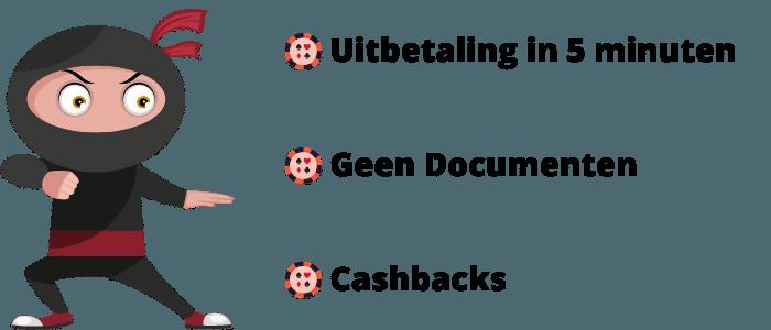 casino met snelle uitbetaling voordelen