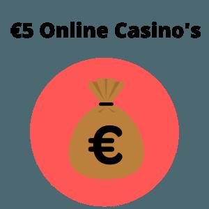 5 euro storting online casinos