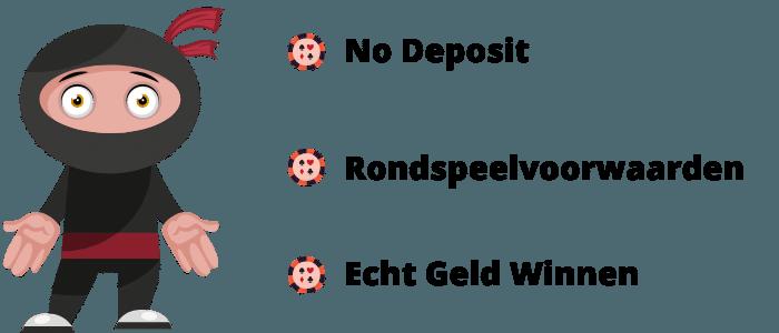 Wat is een casino bonus zonder storting?