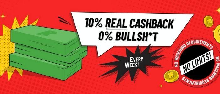 cashback bonus Refuel casino