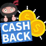 cashback bonukset